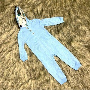 Starting Out Blue Dinosaur One Piece Size 24m NWT